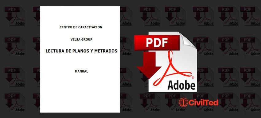 Lectura de Planos y Metrados, Velsa Group | PDF