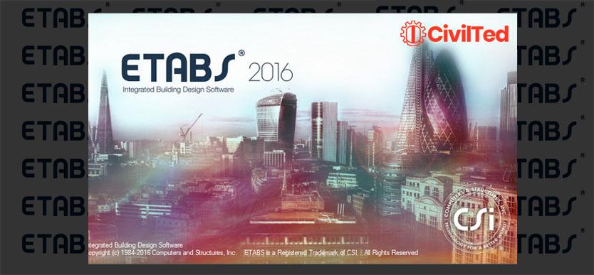 Descargar Etabs 2016 v16.2.1