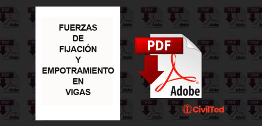 Fuerzas de fijación y momentos de empotramiento en vigas – 1ra Edición| Ortiz D., Palomino A. H., Miranda A. R.