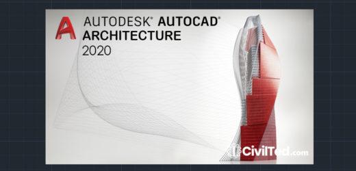 Descargar AutoCAD Architecture 2020
