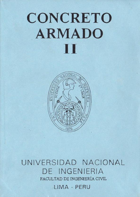 Concreto Armado II – UNI | Walter Barrenechea Soto